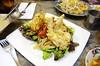 Soft Shell Crab & Spicy Green Papaya Salad (Pu Nhim Som Tum)