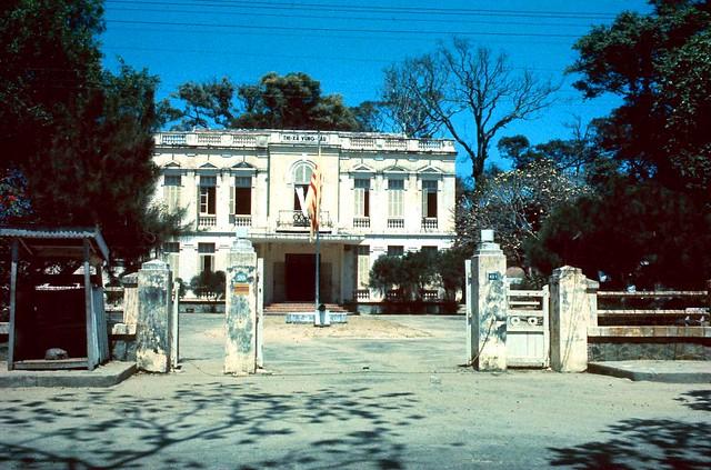 VUNG TAU 1960s - Tòa Hành Chánh Thị Xã Vũng Tàu