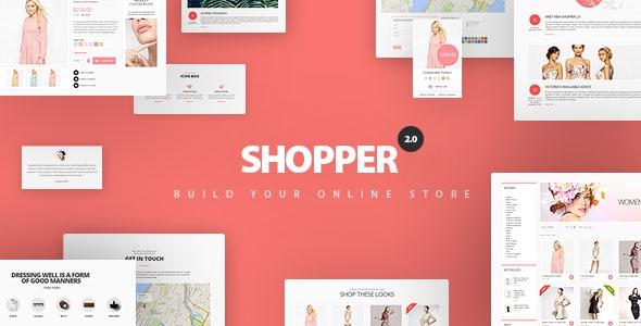 ThemeForest Shopper v2.1.2 - Magento Theme, Responsive & Retina Ready