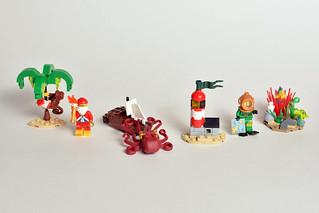 "Lego ""Christmas at Sea"" Advent Models"