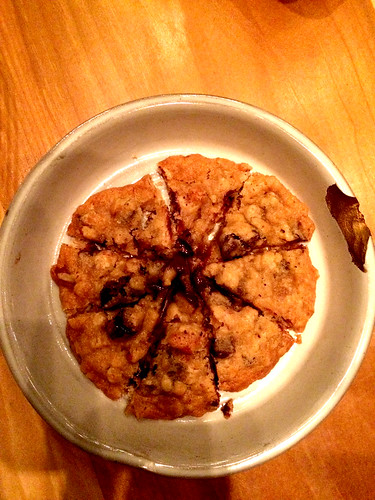 Chocolate Chip Oatmeal Raisin Cookie at Field Guide (December 19 2014)
