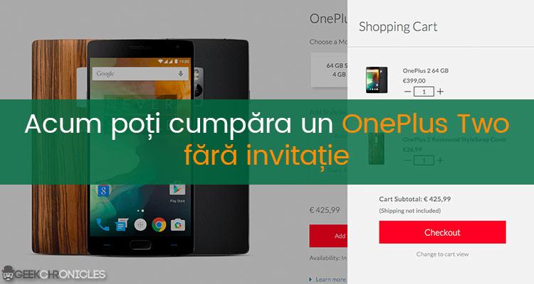OnePlus Two fara invitatie