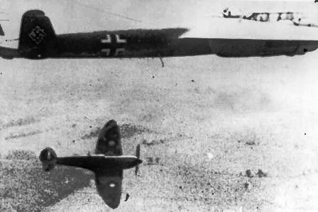 spitfire dornier do17