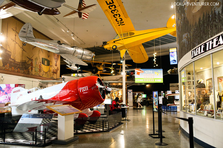 San Diego Air and Space Museum is an aviation and space exploration museum located in Balboa Park. It is housed in the Ford Building, which is on the National Register of Historic Places.