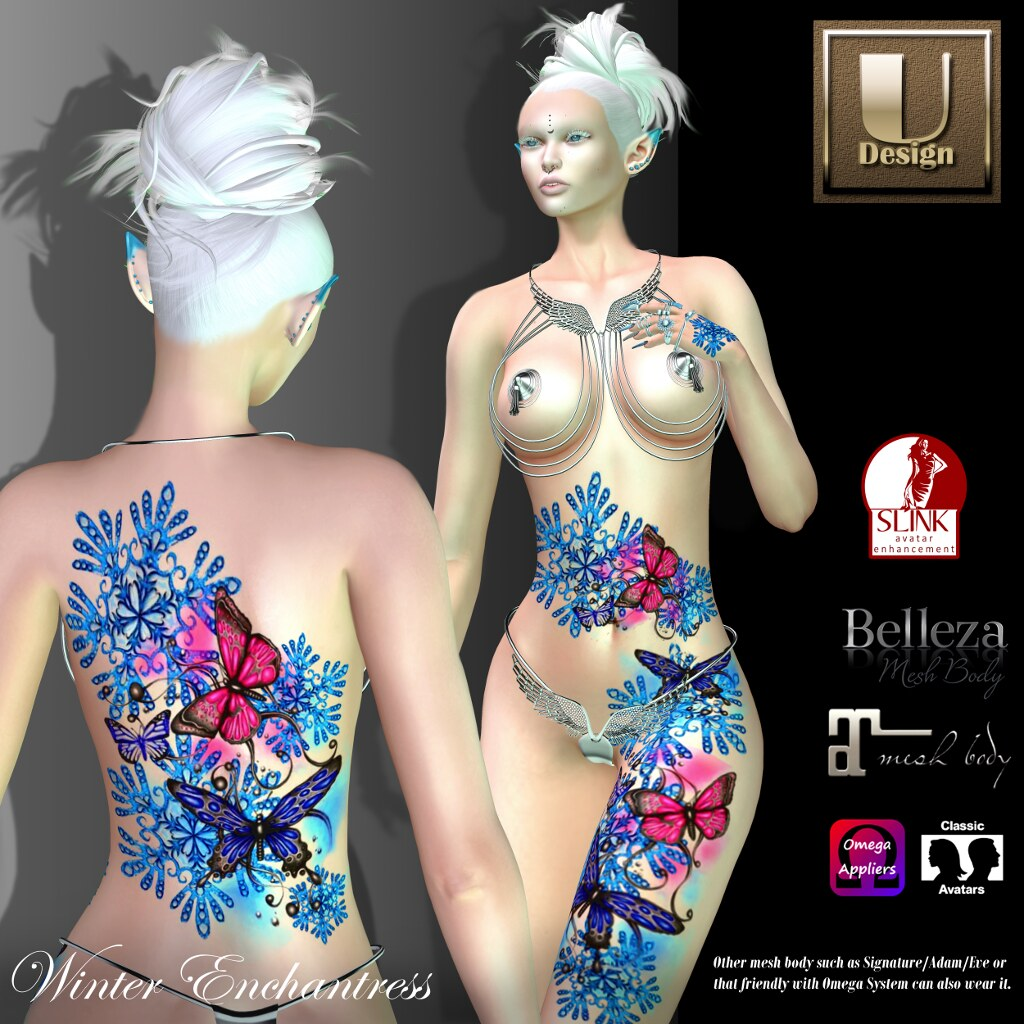U-Design:  Winter Enchantress - SecondLifeHub.com