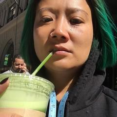 Mmmmmm green juice...