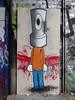 CopyMeNot street art, Shoreditch