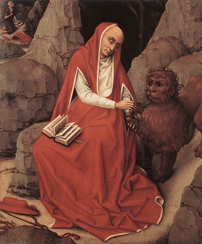 Saint Jerome and the lion