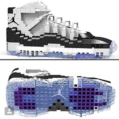 Tom Yoo is the artist behind all the retro Jordan Lego creations. See more of his creations at PsychoPandaStreetwear.com and vote on Lego's website at this like https://ideas.lego.com/projects/102586  #sneakerhead #artistic #artwork #lovewhatyoudo #dmv #d