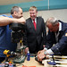 Visit to The Men's Shed Project in Omagh, 19 August 2015