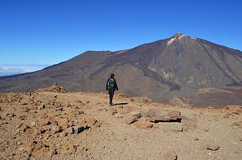 Climbing Guajara, Mount Teide, Tenerife
