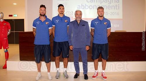 Presentati a TdG Bacchetti, De Rossi e Calderini$