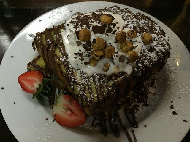 Hazelnut chocolate french toast - Northside Cafe