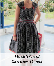 Rock'n'Roll Cambie dress Sewaholic View B