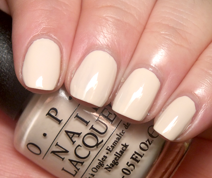 OPI Venice Collection Be There in a Prosecco