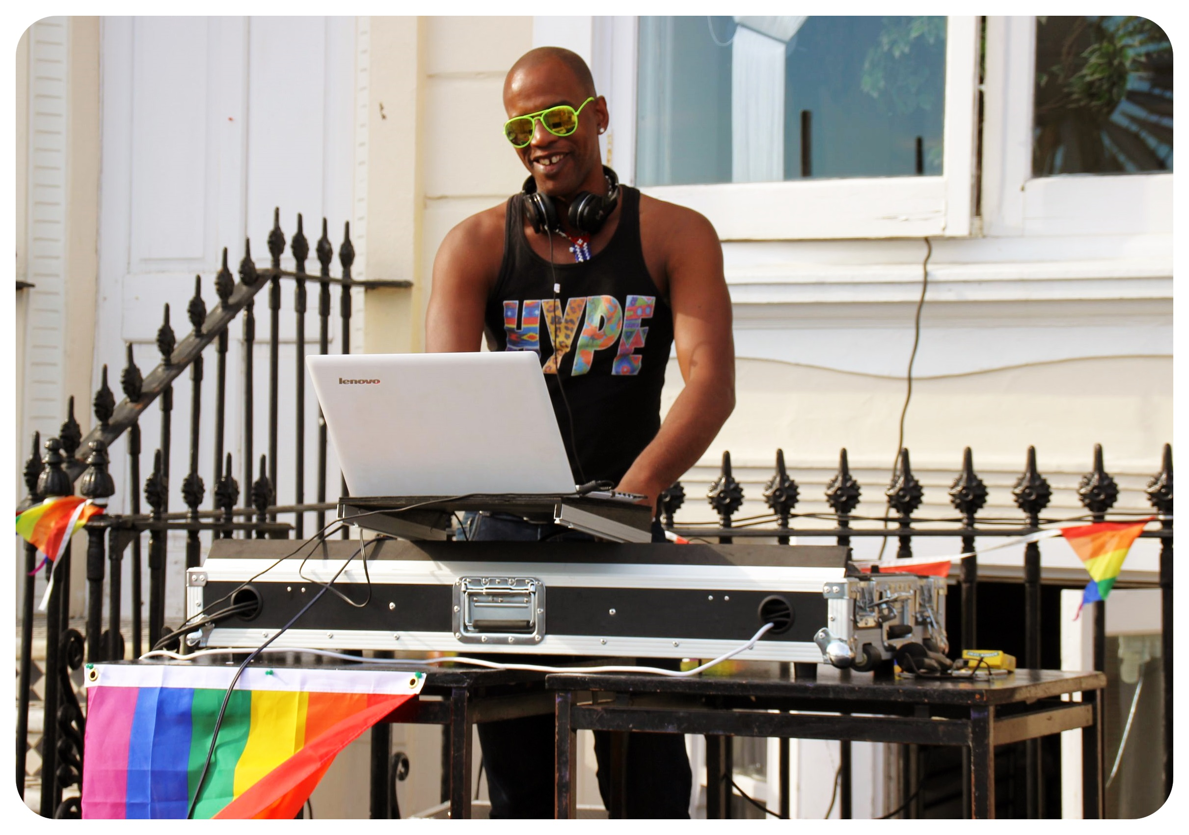 brighton pride street party dj