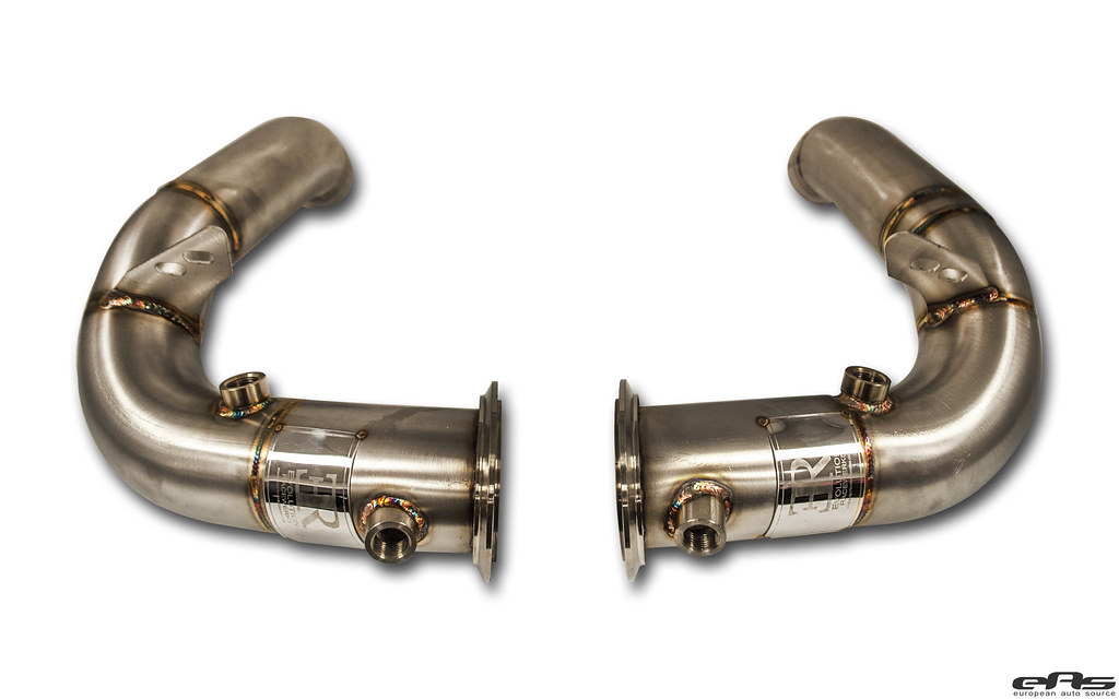 eas   Evolution Racewerks S63 downpipes - First look