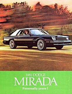 1981 Dodge Mirada (Canada)