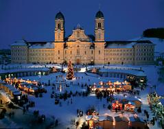 Einsiedeln– největší klášter ve Švýcarsku.