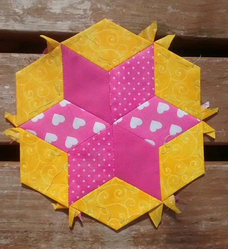 Hexagon star number 21