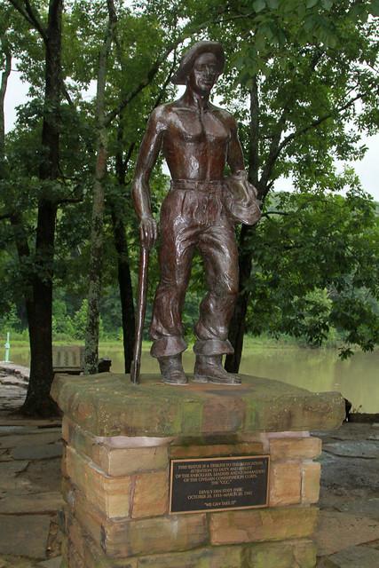 CCC Statue