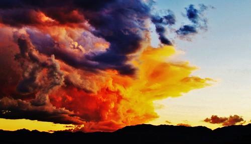 sunset sky clouds bolivia ciel andes nuages coucherdesoleil sucre bolivie
