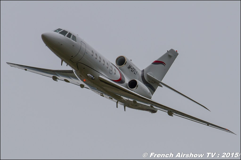 Dassault Falcon 50 M-CFLY Fly-In CASG Prangins 2015 aerodrome de la Côte LSGP Canon Sigma France contemporary lens Meeting Aerien 2015