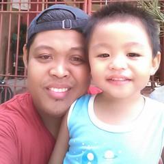 #babyJJ with daddy