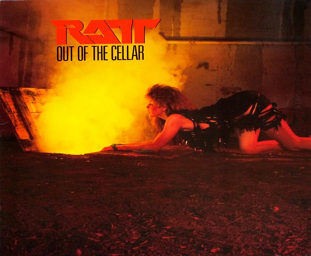 "RATT OUT OF THE CELLAR 12"" LP"