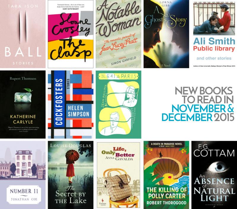 New books to read in November & December 2015