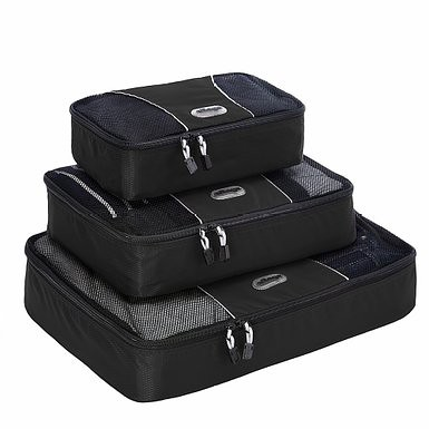 Packing cubes black