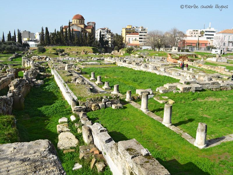 Kerameikos fue el antiguo barrio de alfareros, además del cementerio más grande y antiguo de Atenas