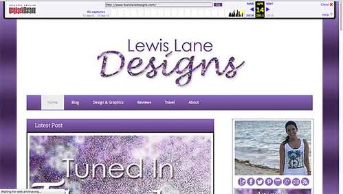 Wayback Machine Going Wayback by Lewis Lane
