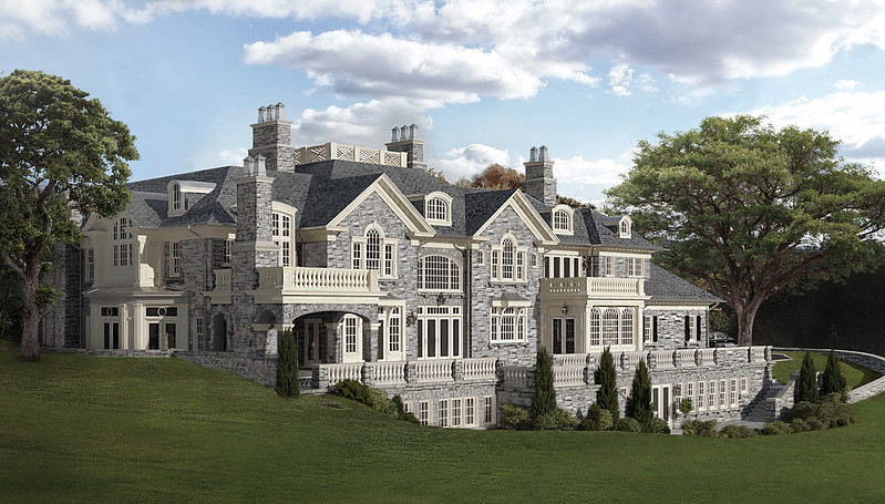 Фото | Дом в стиле замка в Нью-Йорке