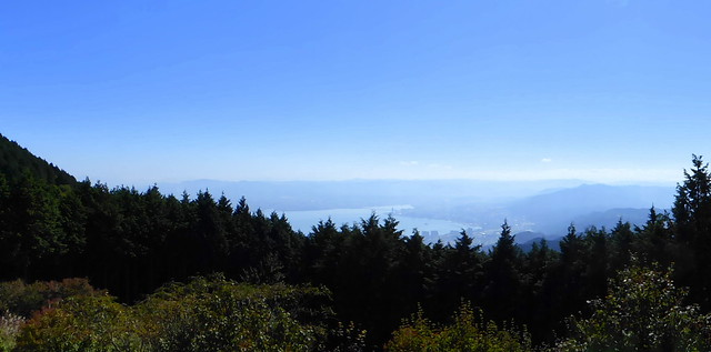 Lake Biwa from Mt Hiei