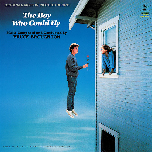 The Boy Who Could Fly - Soundtrack Frontcover 2