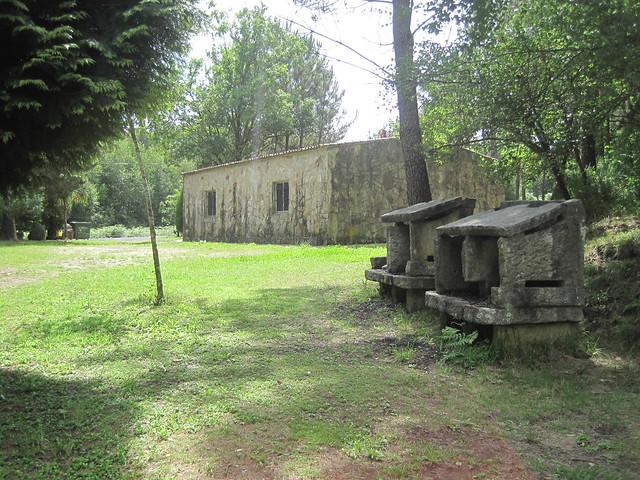 Área recreativa de Santaia en Touro