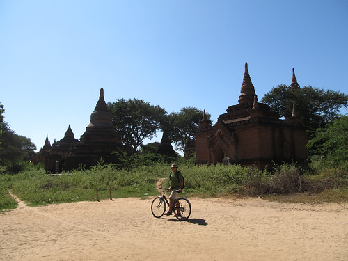 New Bagan: autres pagodes moins connues