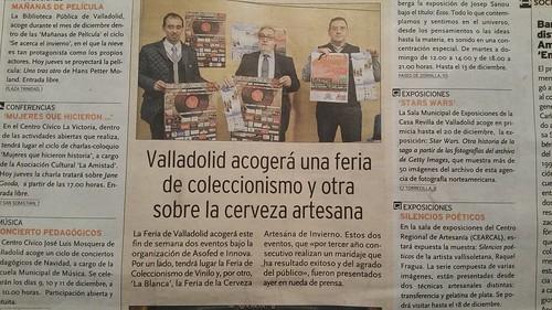 Feria de Coleccionismo de Vinilo / La Blanca. Rueda de Prensa. en los medios