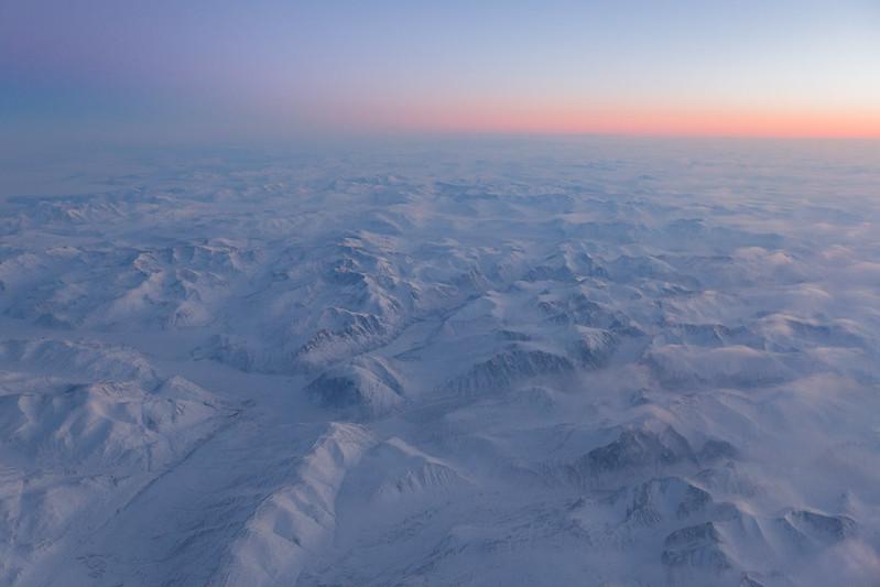 Torngat Mountains at Sunset