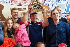 Победитель ралли Dakar 2017 Сергей Карякин вернулся домой!
