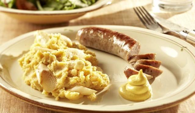 Platz 5: Bratwurst