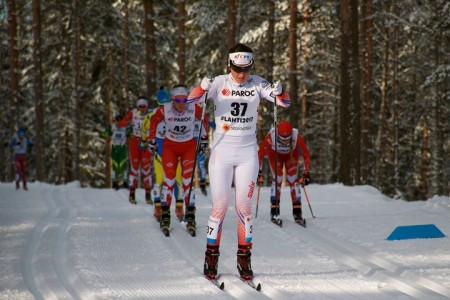 Björgenová a Usťugov jsou Mistry světa ve skiatlonu