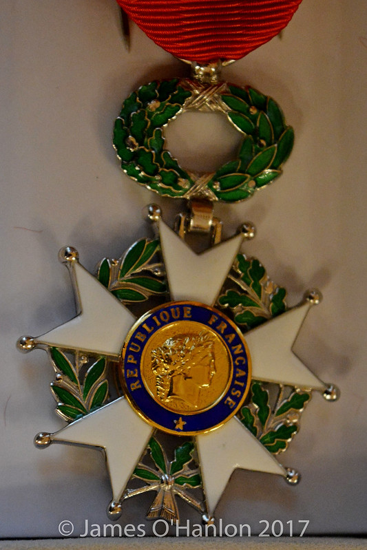 the National Order of the Legion of Honour.