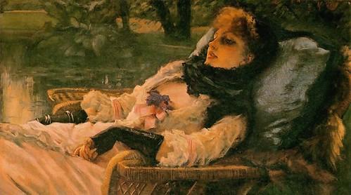 tissot, james jacques - The Dreamer (Summer Evening)