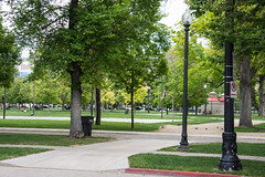 The Homeless Park in Downtown Salt Lake City *Pioneer Park