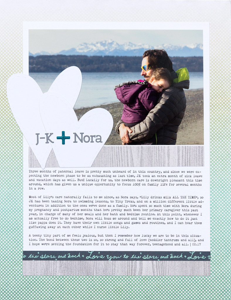 J-K + Nora (Ali Edwards Bond Story Kit)