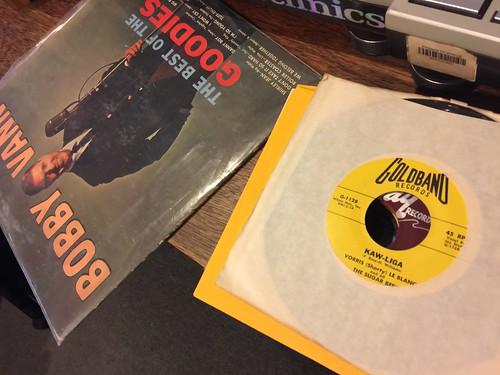 Neil Pellegrin's vinyl.
