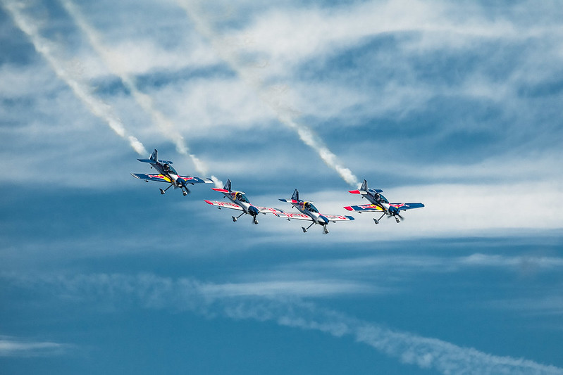 Red Bull Air Race x Flying Bulls