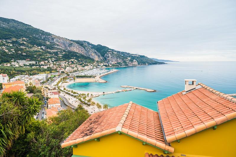 Riviera Postcard